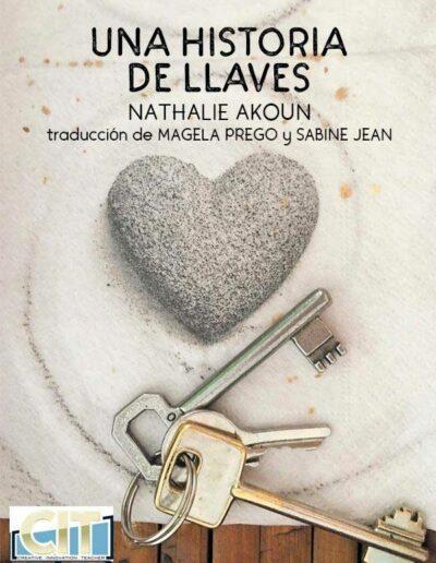 livre Sabine Jean Nathalie Akoun une histoire de clés espagnol